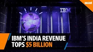 IBM's India revenue tops $5 billion in FY17