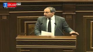 Nikol Pashinyani eluyte - 26.03.2015
