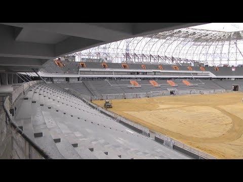 Эксперты FIFA остались довольны стадионом «Мордовия - Арена»
