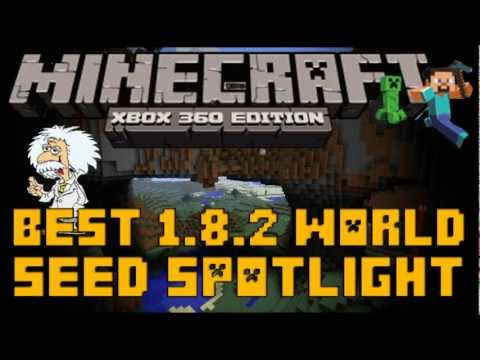Minecraft (Xbox 360): SEED SPOTLIGHT - BEST WORLD EVER (Stronghold. Ravines. Mountains & Moar)