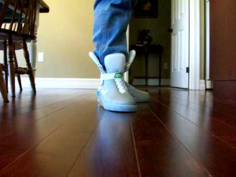 2015 BTTF NIKE MAG shoes