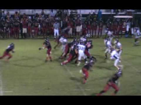 Jake DiFrank #57 2009 Riverview High School Sarasota Florida Football.mpg