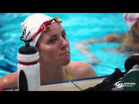 Swimming Australia Rio camp training