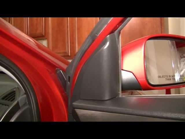 Hyundai Sonata 2011-2013 Removing The Front Door Panel ...