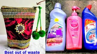 DIY Best Out Of Waste Empty Bottle Craft Idea/Best Reuse Idea