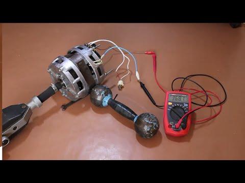 Асинхронный однофазный двигатель в генератор Часть 6 из 6 - Основные методы заработка в сети
