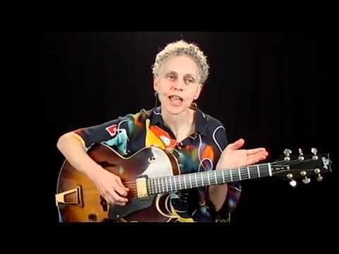 Jazz Performance - #6 - Guitar Lesson - Mimi Fox