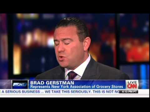 Judge blocks NYC's large-soda ban, Analysis by Brad Gerstman on CNN's Erin Burnett 3/11/13