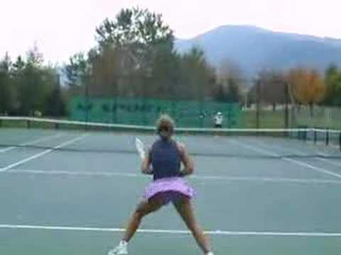 Lina's Tennis Practice