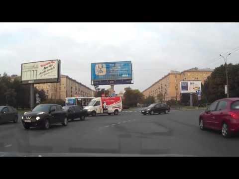 Авария с маршруткой в Питере 15 09 2014