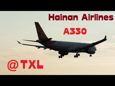 Hainan Airlines A330-200 [B-6089] landing @ Berlin Tegel