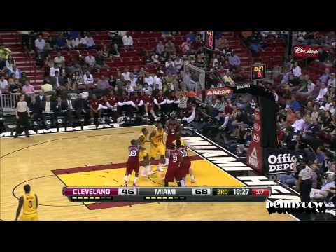 Kyrie Irving Full Highlights vs. LeBron James, Wade Miami Heat NBA HD *2013.02.24