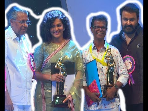 INDRANS  PARVATHY AND JOBI @KERALA STATE FILM AWARD 2018