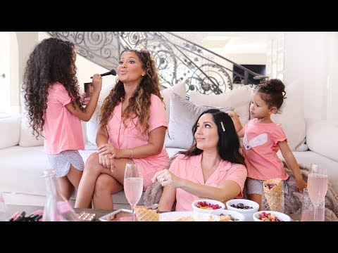 Adrienne Houghton's Pajama Party | All Things Adrienne