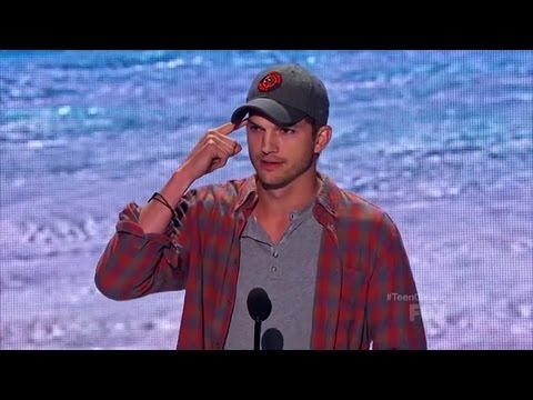 Ashton Kutcher Speech - Teen Choice Awards (hq) video