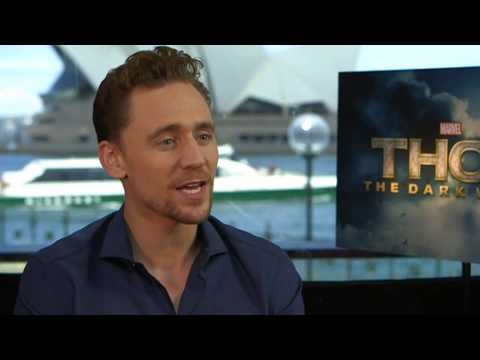 Tom Hiddleston interview for Thor The Dark World - Yahoo!7