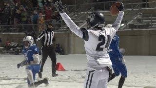 Bemidji Football Routs Cambridge-Isanti In Snowy State Quarterfinal