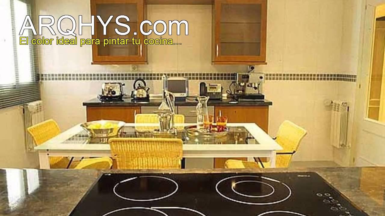 Ideas para pintar la cocina youtube - Pintar paredes cocina ...