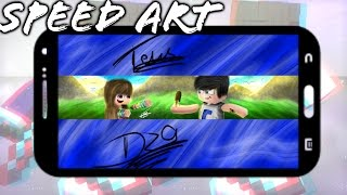★SPEED ART BANNER @miken_alves Craft Android #PICOLÉ★ #37
