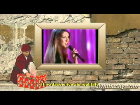Celine Dion - I Met An Angel On Christmas Day (subtitrat romana) - YouTube
