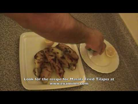 Masala Fried Fish – Tilapia – Indian cuisine recipe video
