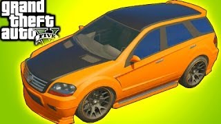 GTA 5 Online Tips: Street Racer SUV! Mod Spotlight Benefactor Serrano (GTA V)