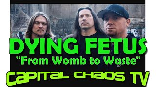 DYING FETUS Live In San Francisco; Multi-Cam Video