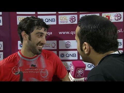 لخويا 1-0 الغرافة ( لقاء مع خالد مفتاح )