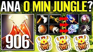 HOW TO JUNGLE IN 7.22 Dota 2!! +906 DMG Legion Commander Farmming Skill by ANA