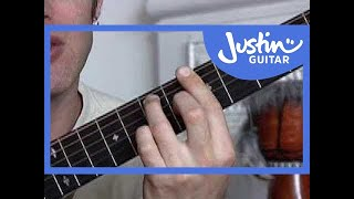Basic Barré Chords #2of4 (Guitar Lesson CH-006) How to play