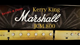 MARSHALL KERRY KING Amp Sim - Review and Demo