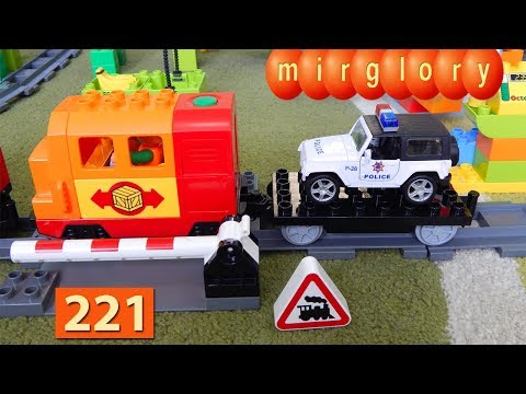 Машинки Мультики про Паровозики Полиция Гонки Город машинок 221 серия Мультики для детей игрушки