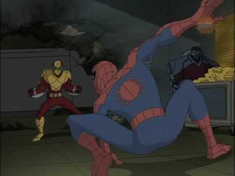 spiderman vs shocker youtube
