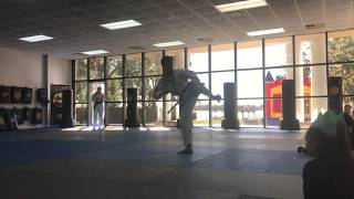 Victory Martial Arts 2018 12 22 Stephan Von Schmeling Performs