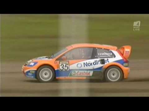 Rallycross Sweden 2008 (with Gronholm)