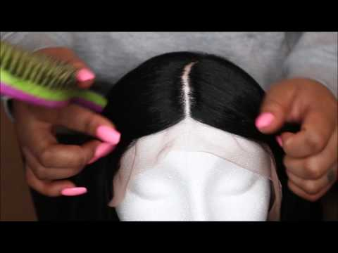 How to Make A Synthetic Lacefont Wig Look Natural ft. Janet Collection-Ariel