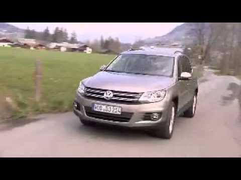volkswagen tiguan 2012 video 2