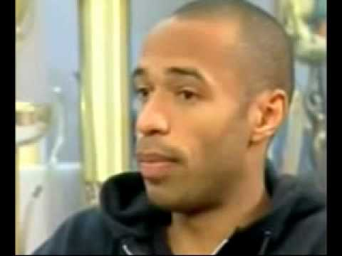 THE FAMOUS FRENCH FOOTBALLER THIERRY HENRY BECAME A MUSLIM