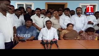 MLA Anjaiah Yadav Thanks CM KCR Over Water Supply | Shadnagar  live Telugu