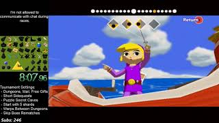 Wind Waker Randomizer Tournament Match in 2:29:16 (vs. Praecipua)