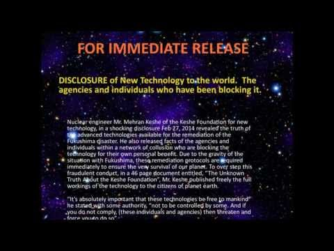 DISCLOSURE of New Technology to the world.  The agencies and individuals who have been blocking it.