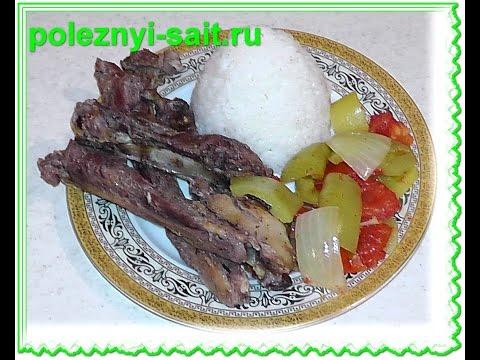 Бараньи ребрышки в духовке | sheep ribs
