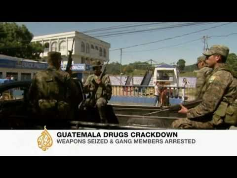 Army deployed in Guatemala drug war