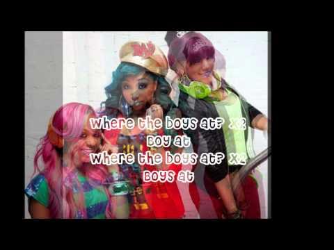 Omg Girlz - where The Boys At? (lyrics) video