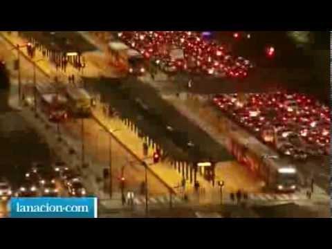 Buenos Aires, Argentina Time Lapse - METROBUS (Bus Rapid Transit - BRT)