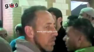 نجوم النادي الأهلي فى عزاء والد محمد أبو تريكة