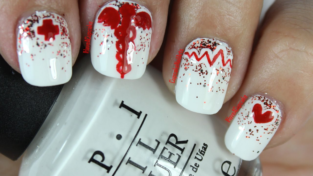 nurse  medical nail art