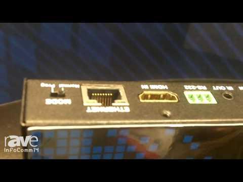InfoComm 2014: DVIGear Details its HDMI HDBaseT-Lite Receiver