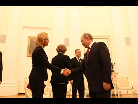 Молдавская делегация с участием Башкана Гагаузии встретилась с президентом России Владимиром Путиным