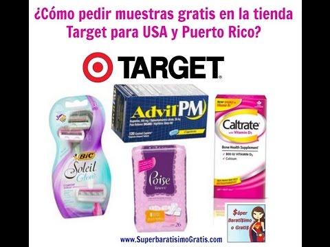 Cómo pedir muestras GRATIS en la tienda Target en USA y Puerto Rico